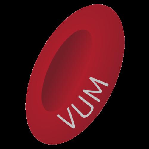 VUM logo popsane